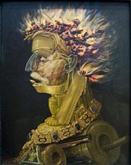 'Fire' by Giuseppe Arcimboldo