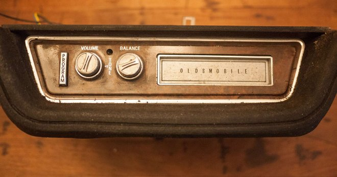 8-track from 70s era Oldsmobile