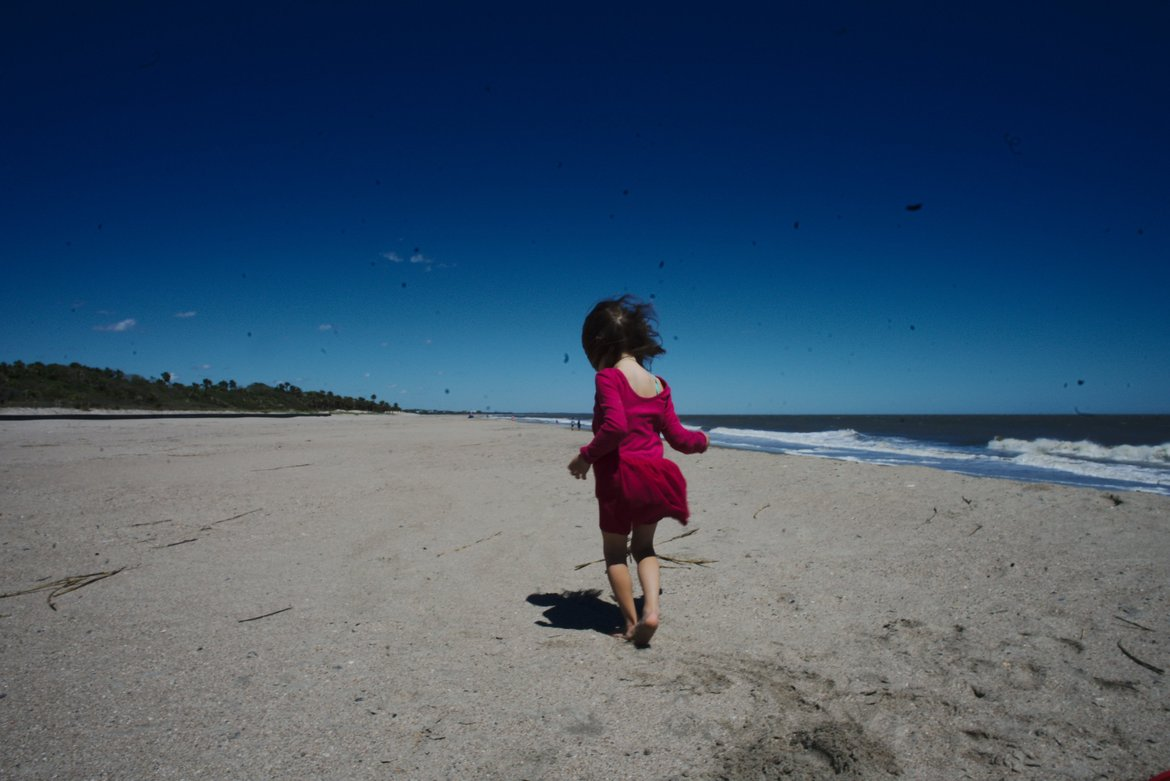 Edisto beach windy photographed by luxagraf