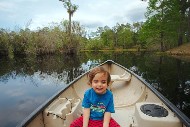 Elliott canoe photographed by luxagraf