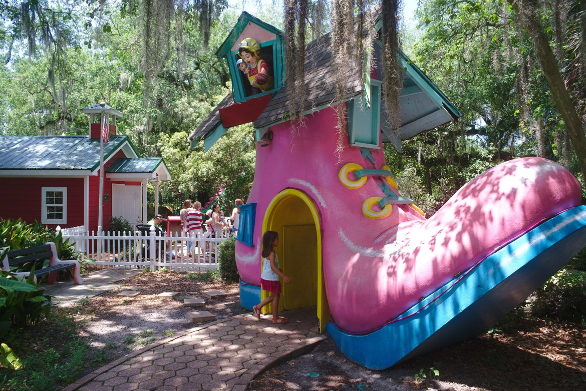 storyland, city park, new orleans photographed by luxagraf