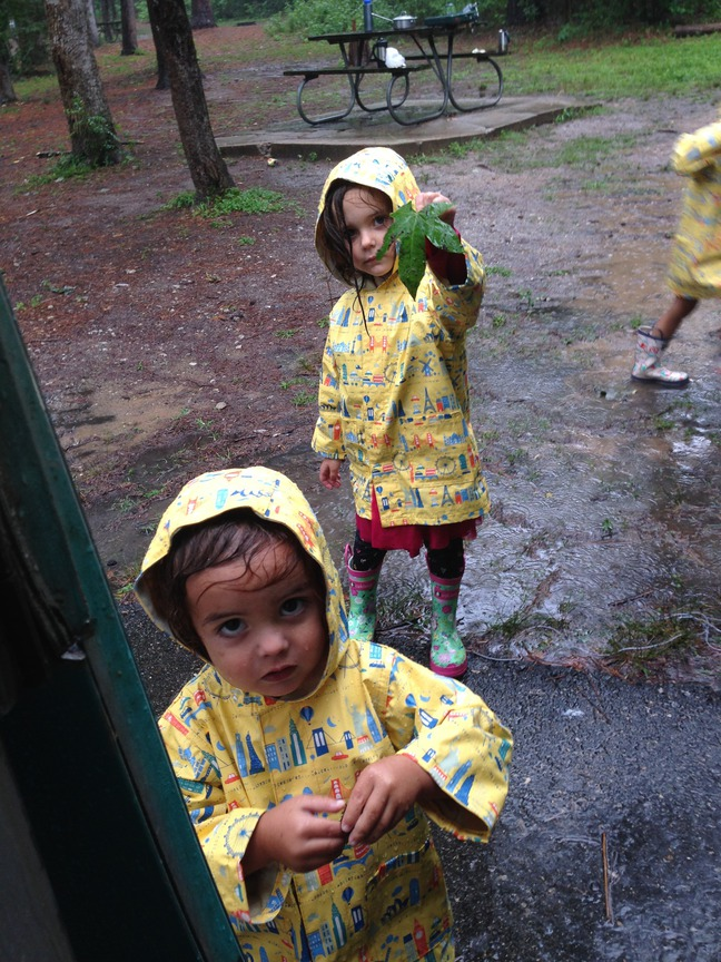 Playing in the rain, Huntsville state park, tx photographed by luxagraf