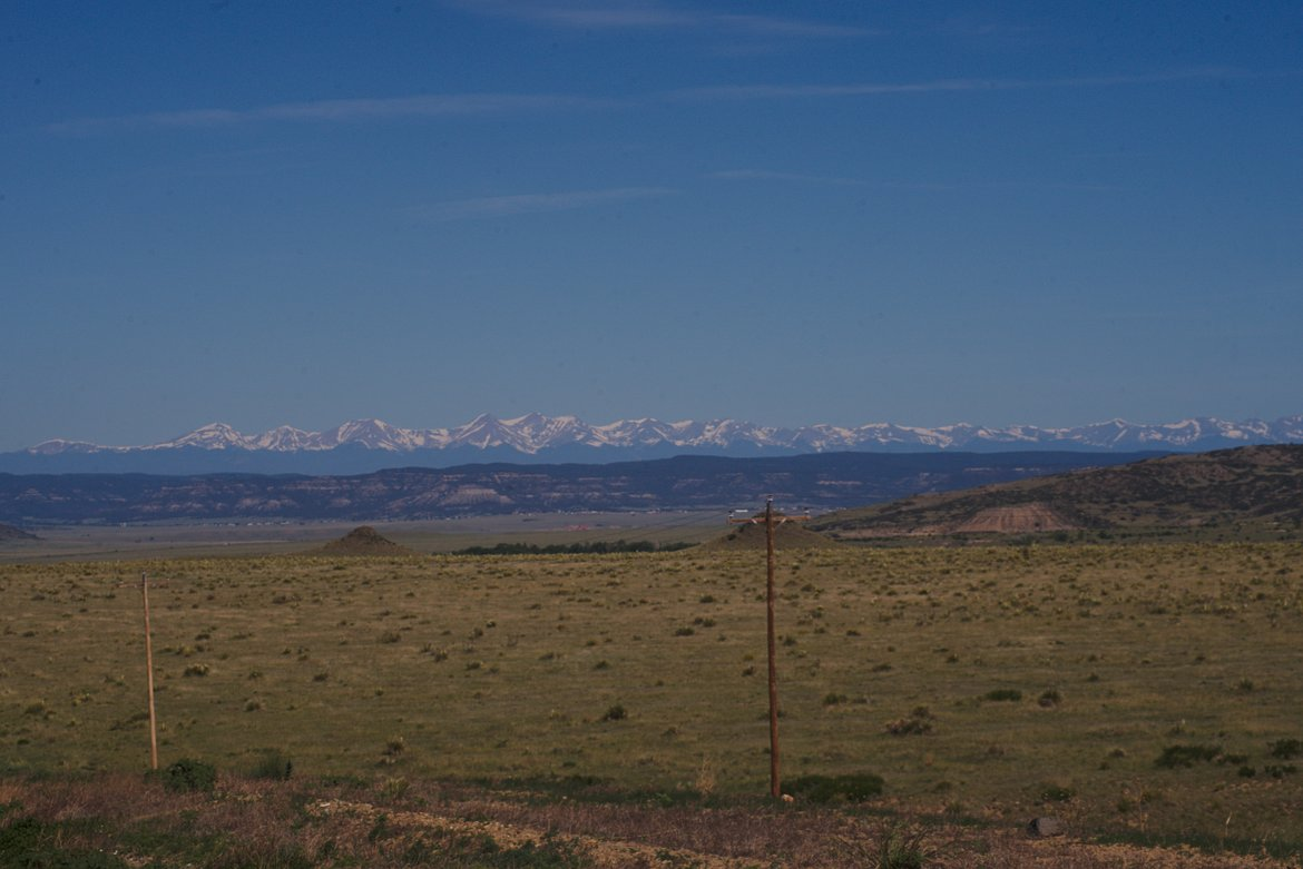 Rocky mountains photographed by luxagraf