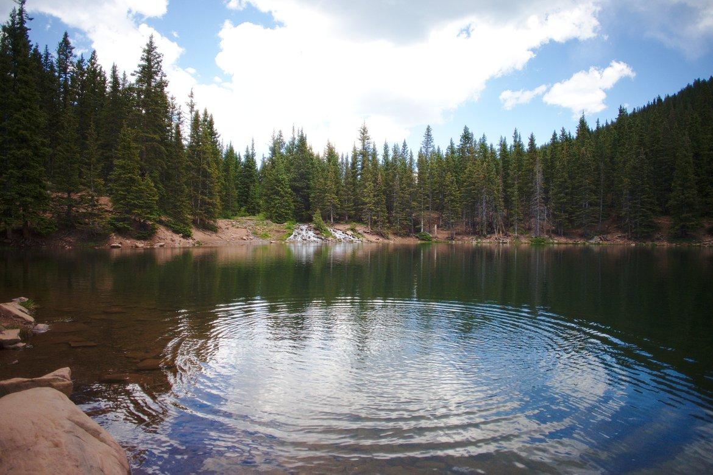 bear lake, sangre de christo mountains photographed by luxagraf