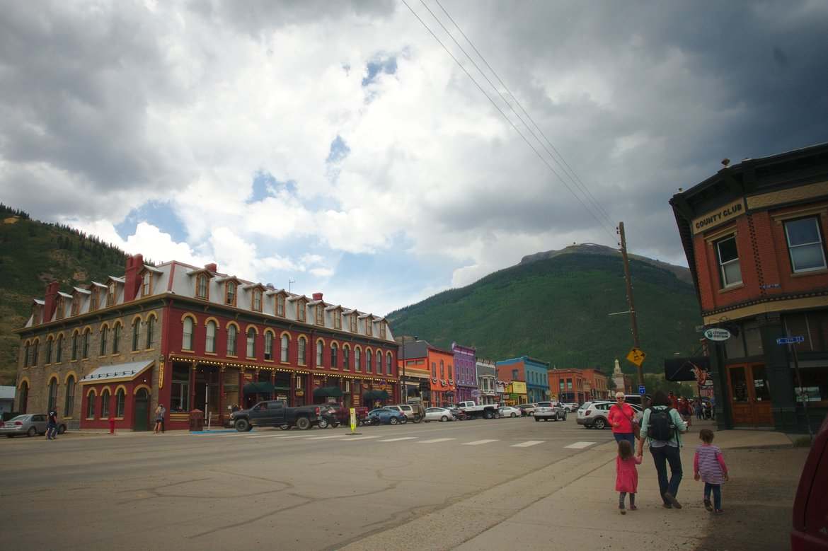 Silverton, co photographed by luxagraf