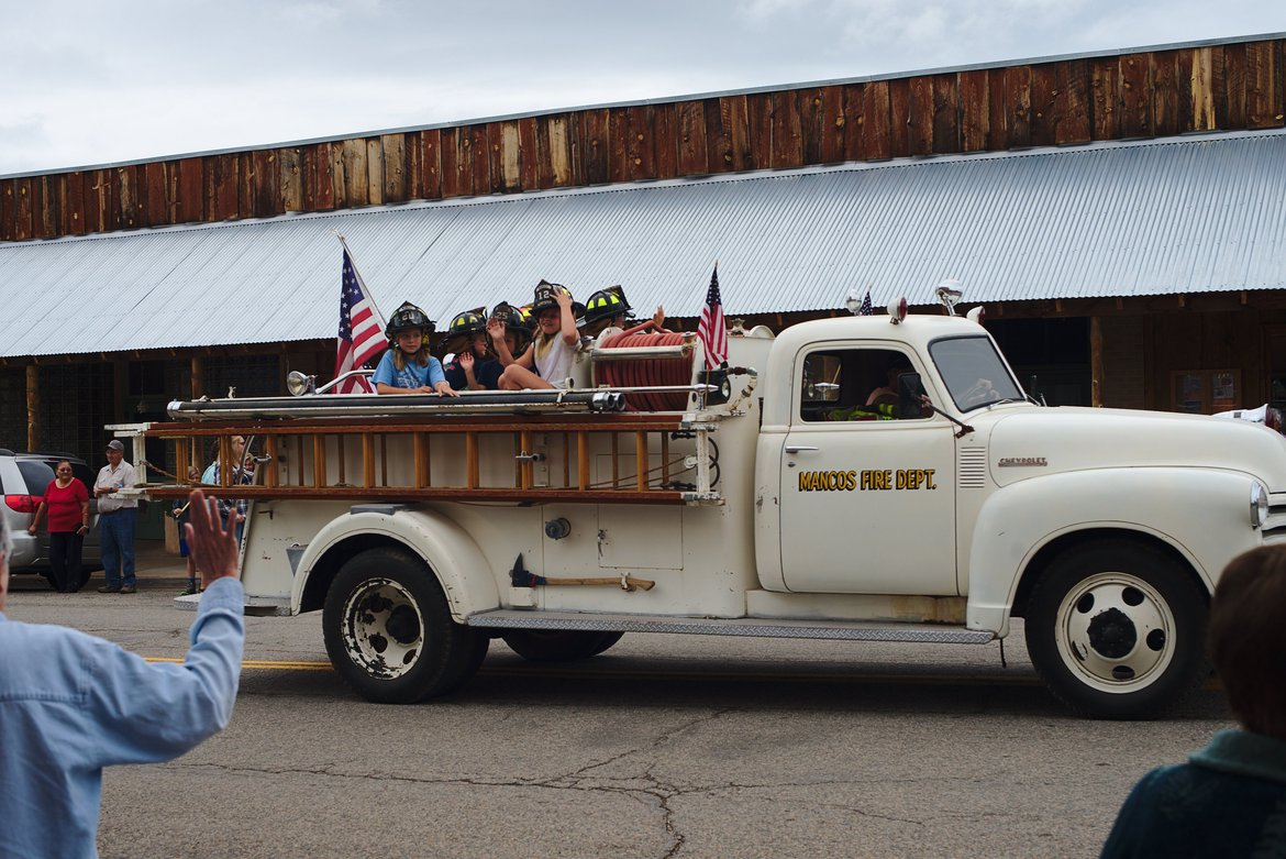 Mancos days fire dept photographed by luxagraf