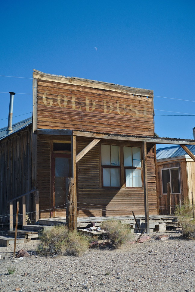 gold point ghost town, nevada photographed by luxagraf