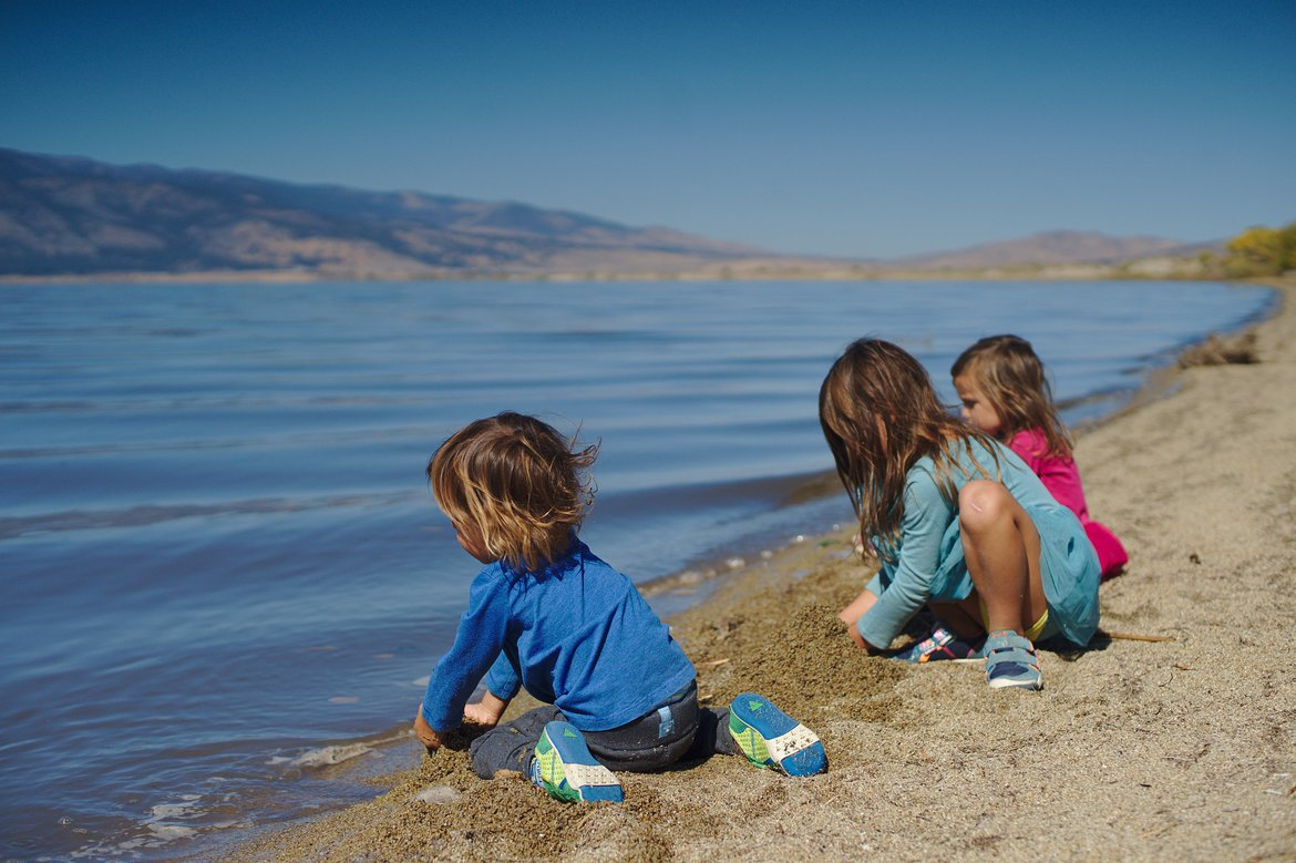 Washoe Lake photographed by luxagraf