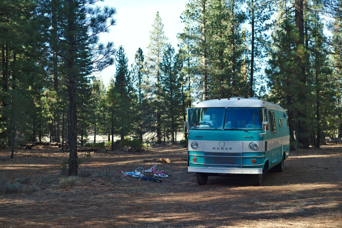 boondocking in lassen photographed by luxagraf