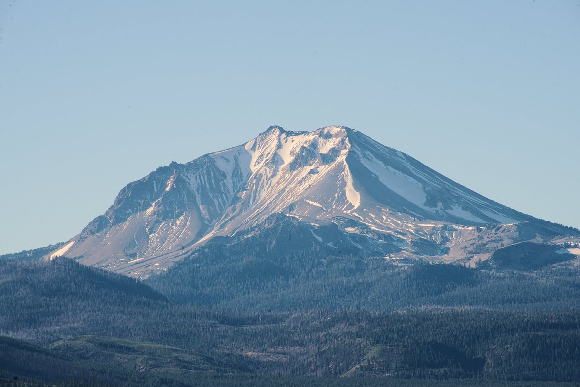 mount lassen photographed by luxagraf