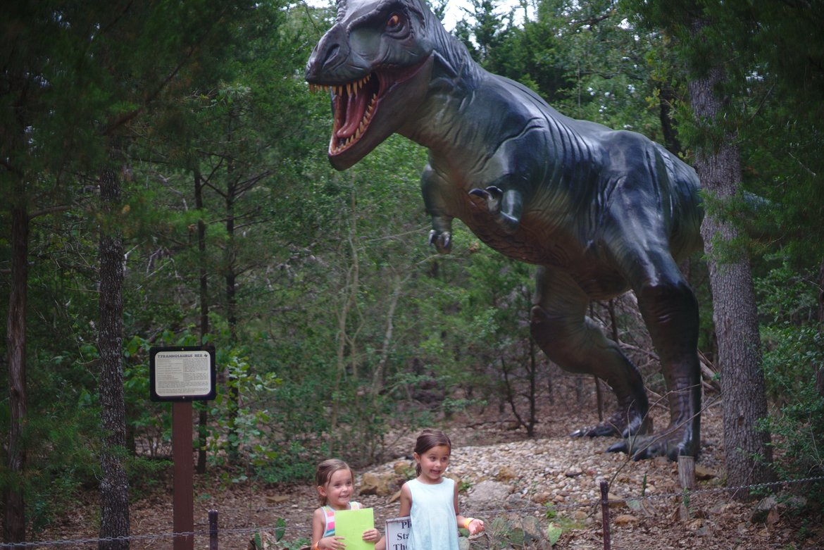 dinosaur park, bastrop, tx photographed by luxagraf
