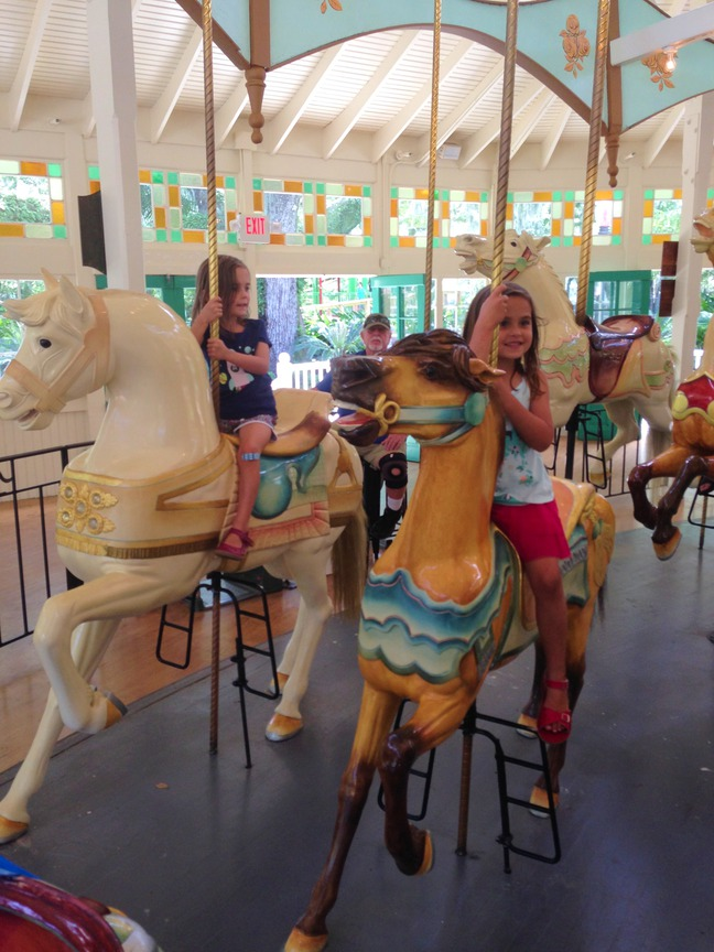 carousel, storyland, city park, new orleans photographed by luxagraf