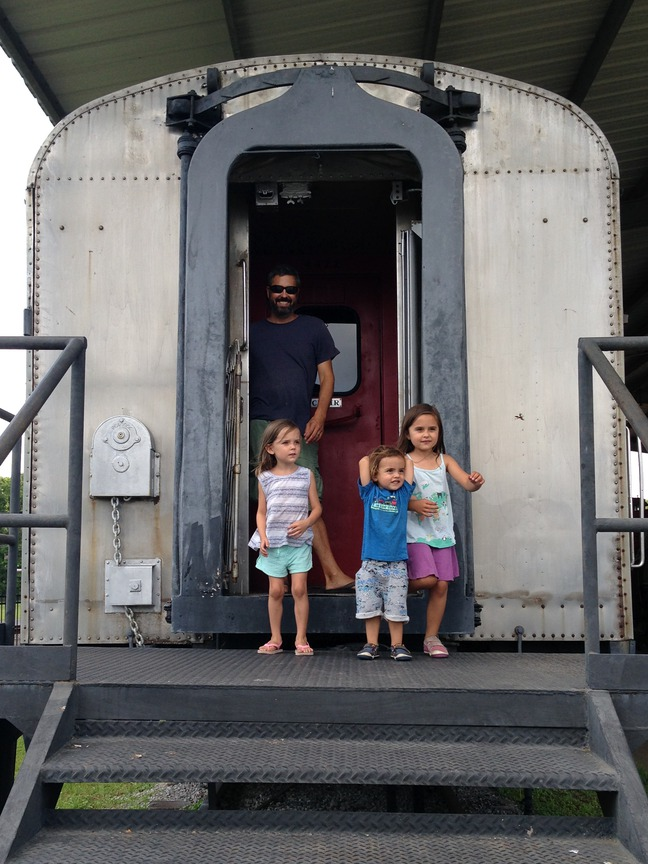 train museum dequincy louisiana photographed by luxagraf