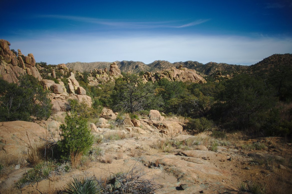 hiking, dragoon mountains, AZ photographed by luxagraf
