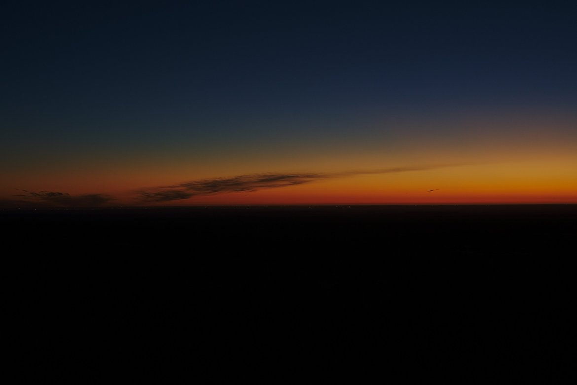 West Texas sunrise photographed by luxagraf