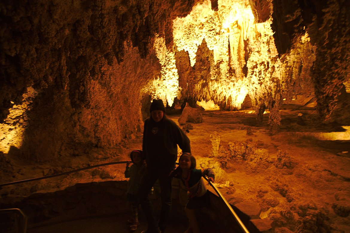 Carlsbad Caverns, NM photographed by luxagraf