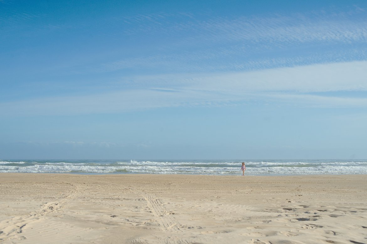 matagorda beach, TX photographed by luxagraf