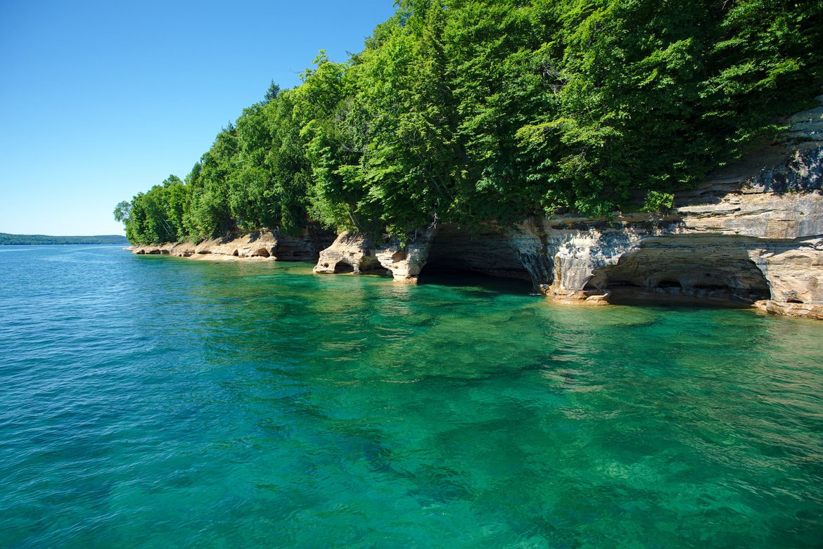 Pictured Rocks National Lakeshore, MI photographed by luxagraf