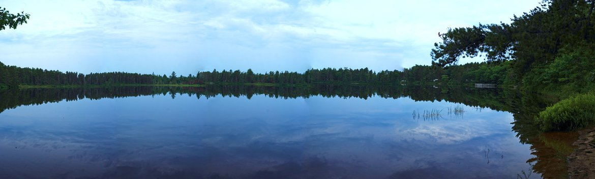 lakeside camping, andrus lake, MI photographed by luxagraf