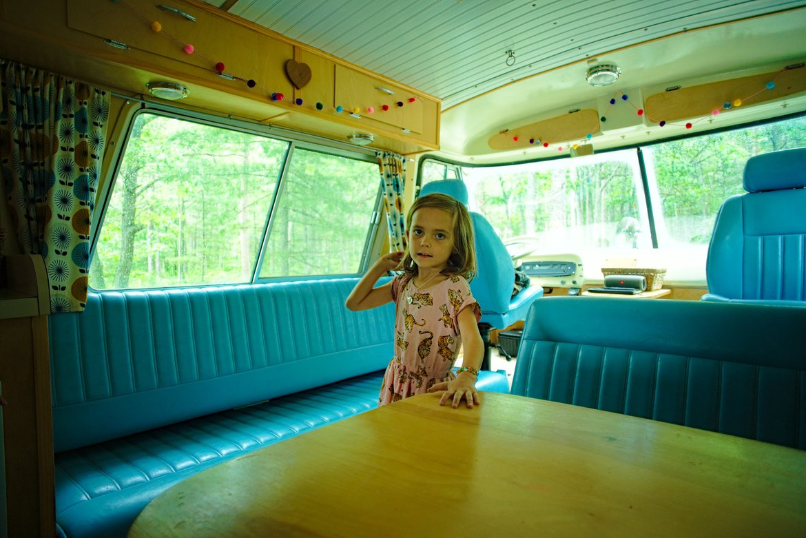 camping, Andrus Lake, MI photographed by luxagraf