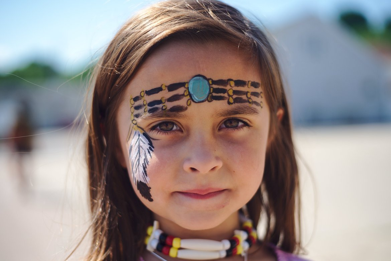 ojibwe festival, st ignace, mi photographed by luxagraf