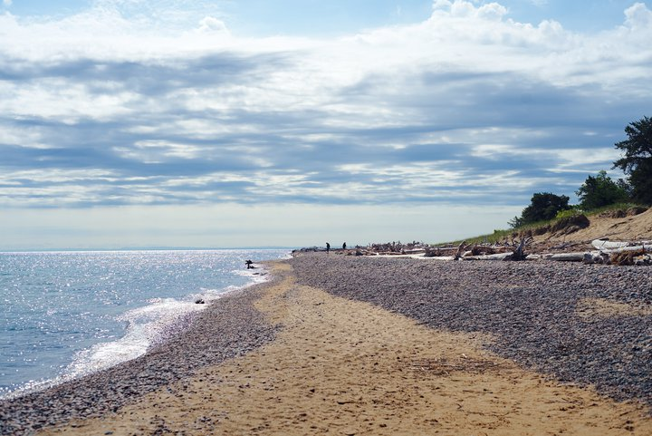 Whitefish point, MI photographed by luxagraf