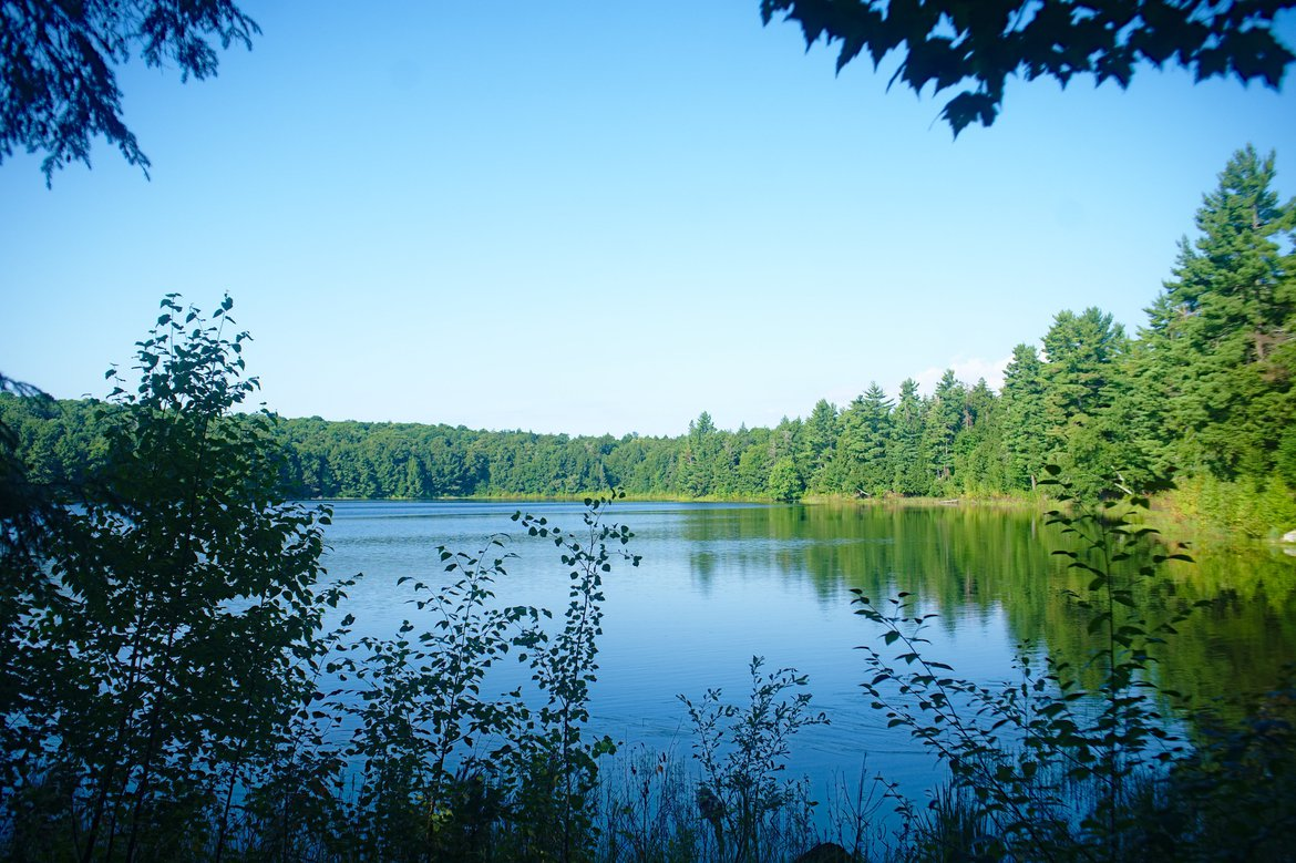 Imp Lake, MI photographed by luxagraf