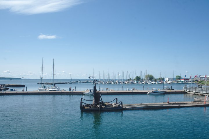 Madeline Island Ferry, Bayside, WI photographed by luxagraf