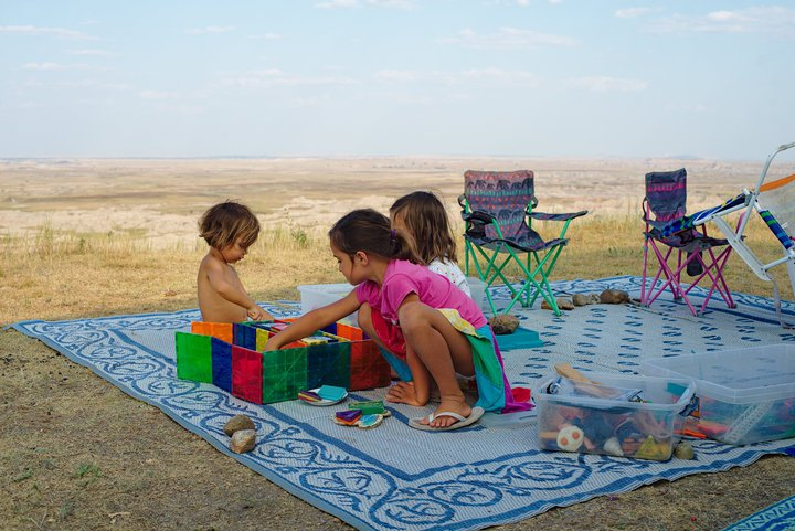 playground with a view, buffalo gap national grasslands, wall, sd photographed by luxagraf