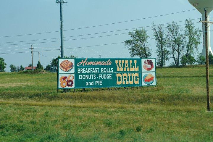 Wall Drug billboard photographed by luxagraf