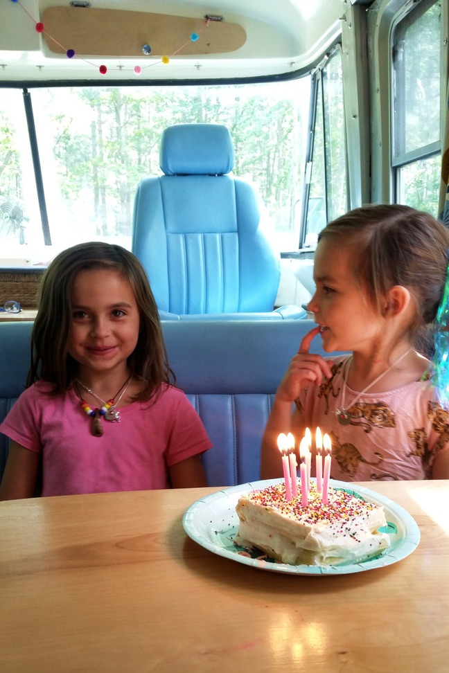 Birthday at Andrus Lake, MI photographed by luxagraf