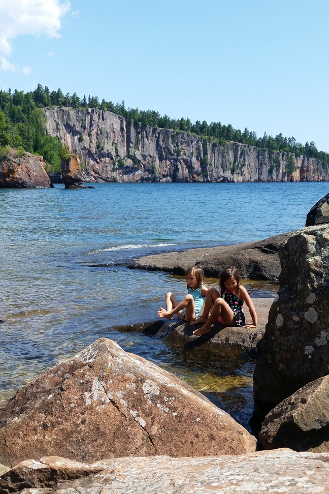 Tettegouche State Park,MN photographed by luxagraf