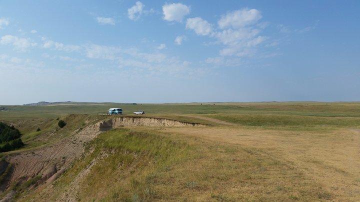 buffalo gap, near Wall, SD photographed by luxagraf
