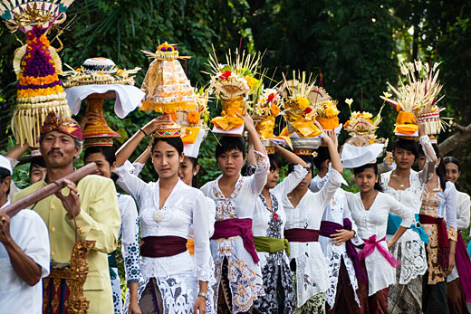 The Balinese Temple Ceremony