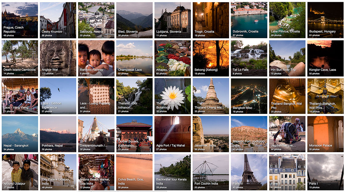 trip around the world thumbnails